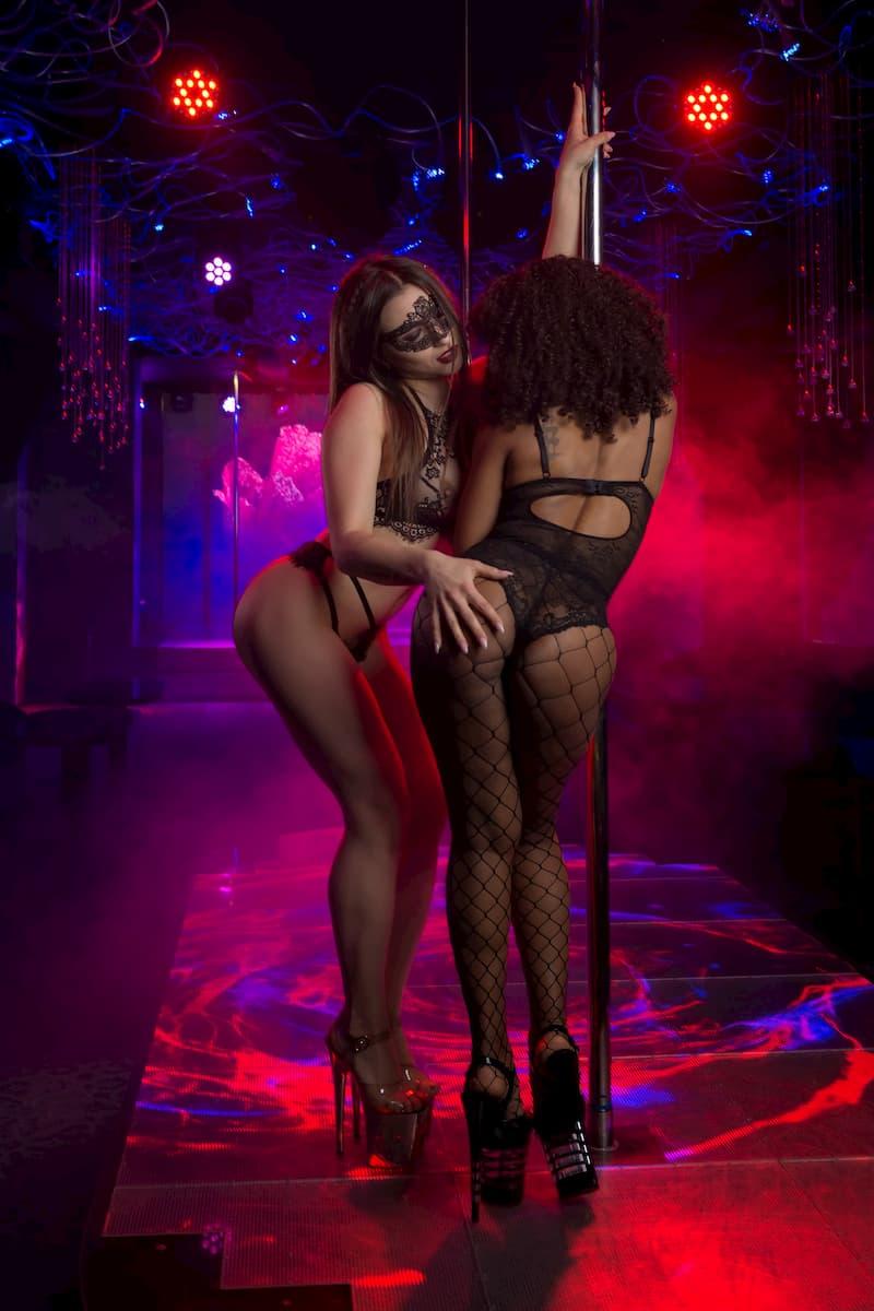 Erotic strip club in the center of Kiev